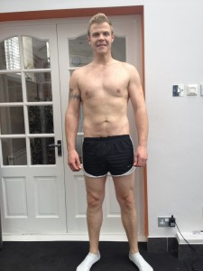 Danny lost weight after 5 months