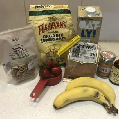 healthy recipes, optimal health, overnight oats