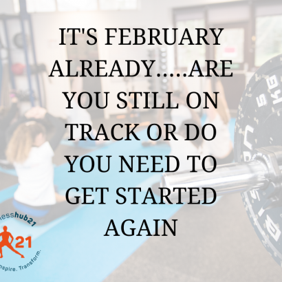 Are you still on track?